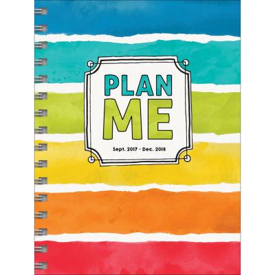 2018 Plan Me Medium Weekly Monthly Planner