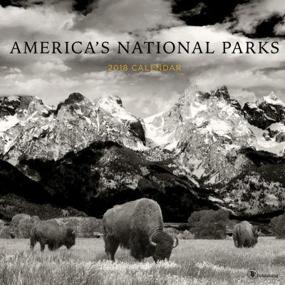 2018 America's National Parks Wall Calendar