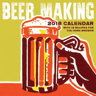 2018 Beer Making Wall Calendar