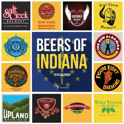 2018 Beers of Indiana Wall Calendar