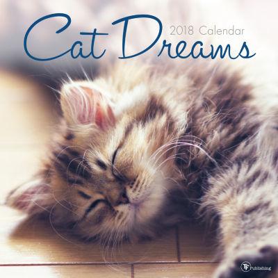2018 Cat Dreams Wall Calendar
