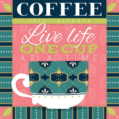 2018 Coffee Wall Calendar