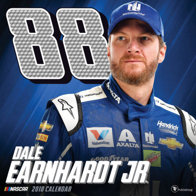 2018 Dale Earnhardt Jr. Wall Calendar
