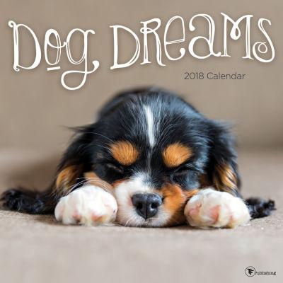 2018 Dog Dreams Wall Calendar