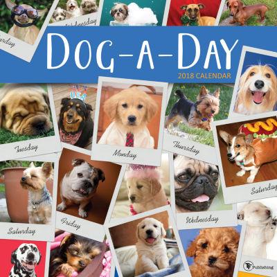 2018 Dog-A-Day Wall Calendar