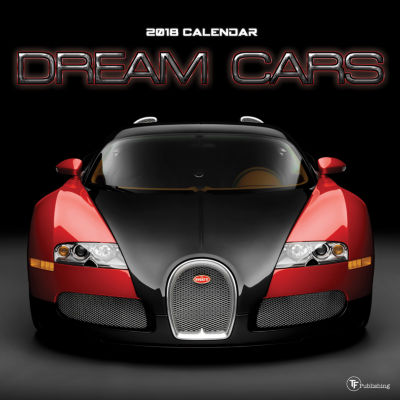 2018 Dream Cars Wall Calendar