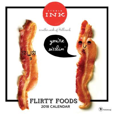 2018 Flirty Food Wall Calendar