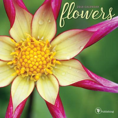 2018 Flowers Mini Calendar