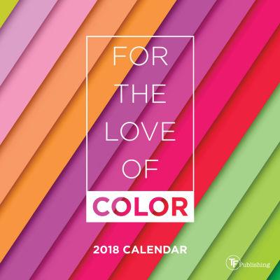 2018 For the Love of Color Mini Calendar