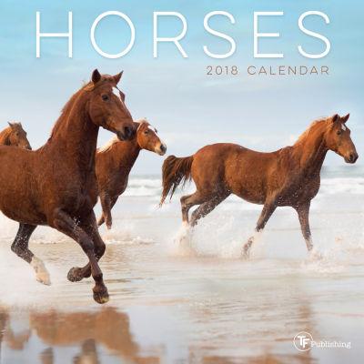 2018 Horses Mini Calendar