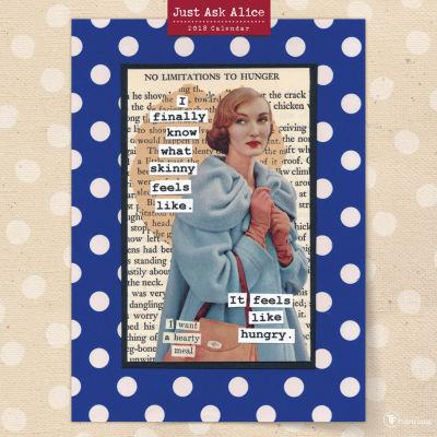 2018 Just Ask Alice Wall Calendar