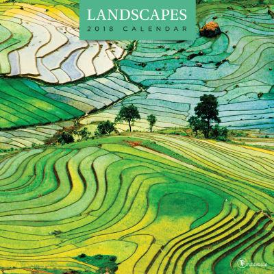 2018 Landscapes Wall Calendar