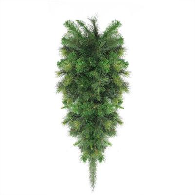 "48"" Canyon Pine Artificial Christmas Teardrop Swag- Unlit"""