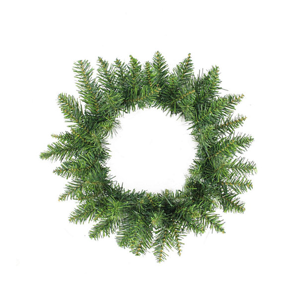 "12"" Buffalo Fir Artificial Christmas Wreath - Unlit"""