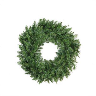 """24"""" Buffalo Fir Artificial Christmas Wreath - Unlit"""""""