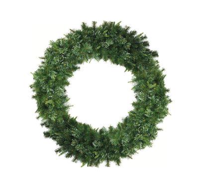 5' Cashmere Mixed Pine Commerical Size ArtificialChristmas Wreath - Unlit
