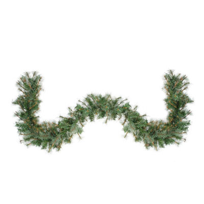 """6' x 9"""" Mixed Country Pine Artificial Christmas Garland - Unlit"""""""