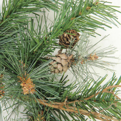 "9' x 12"" Country Mixed Pine Artificial Christmas Garland - Unlit"""