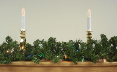 "9' x 12"" Pre-Lit Green Canadian Pine Artificial Christmas Garland - Multi Lights"""
