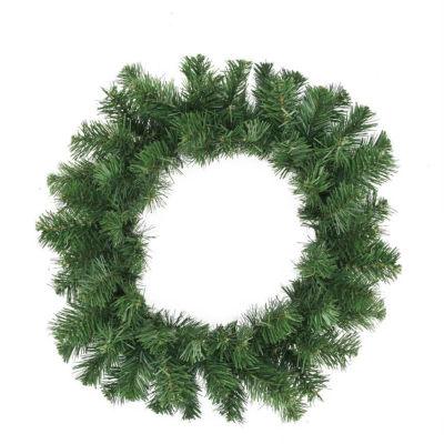 """10"""" Deluxe Windsor Pine Artificial Christmas Wreath - Unlit"""""""