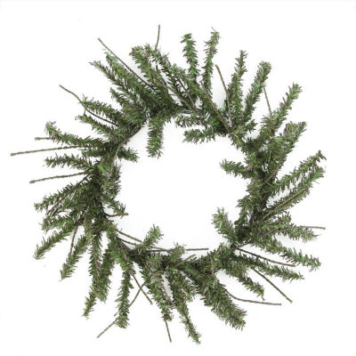 "12"" Mini Vienna Twig Artificial Christmas Wreath -Unlit"""