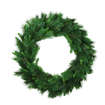 "30"" Imperial Majestic Mixed Pine Artificial Christmas Wreath - Unlit"""