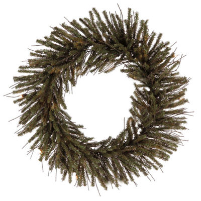 "30"" Vienna Twig Artificial Christmas Wreath - Unlit"""