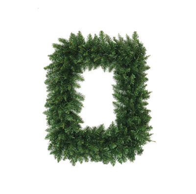 "36"" Buffalo Fir Rectangular Artificial Christmas Wreath - Unlit"""