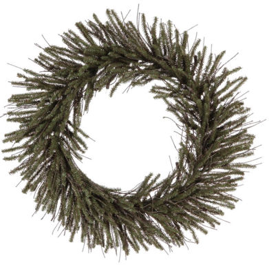 "6"" Mini Vienna Twig Artificial Christmas Wreath -Unlit"""