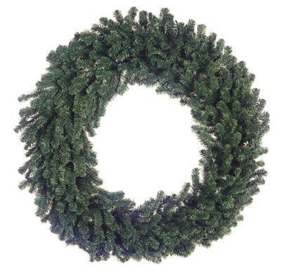 """72"""" Deluxe Windsor Pine Artificial Christmas Wreath - Unlit"""""""