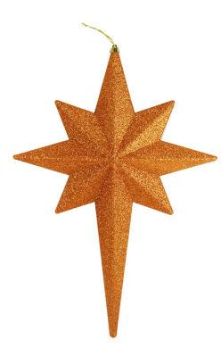 """20"""" Glittered Bethlehem Star Shatterproof Christmas Ornament"""