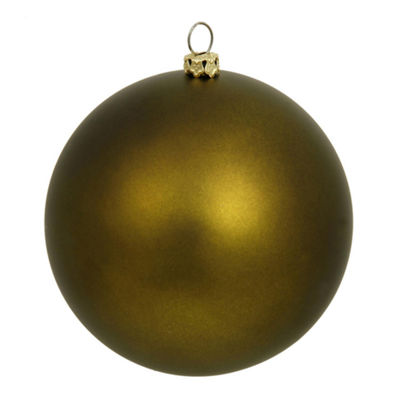 "60ct Matte Olive Green Shatterproof Christmas Ball Ornaments 2.5"" (60mm)"""