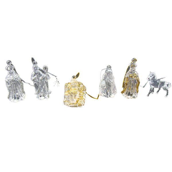Club Pack of 432 Jesus  Wise Men. Mary  Joseph Nativity Christmas Ornaments
