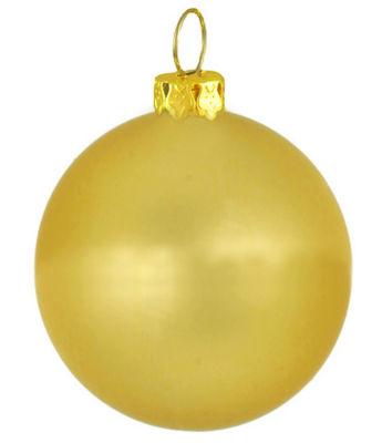 "Matte Twilight Gold Commercial Shatterproof Christmas Ball Ornament 4"" (100mm)"""