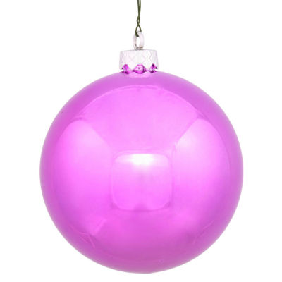 "Shiny Orchid UV Resistant Commercial Drilled Shatterproof Christmas Ball Ornament 2.75"" (70mm)"""