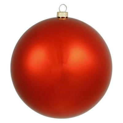 "Shiny Red UV Resistant Commercial Drilled Shatterproof Christmas Ball Ornament 15.75""(400mm)"""