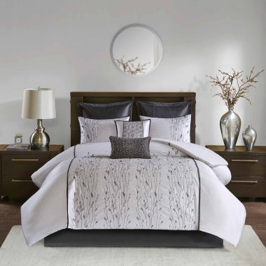Madison Park Roux Embroidered 8-pc. Comforter Set
