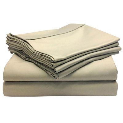 Blissful Living 800tc Yarn Dyed Woven Easy Care Sheet Set With Extra  Pillowcases