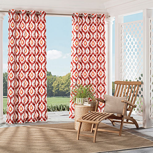 Parasol Barbados Grommet-Top Curtain Panel