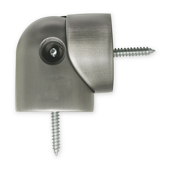 Kirsch Designer Metals - Swivel Socket Corner Connector