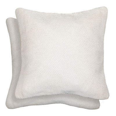 Mene Square Throw Pillow - 18x18 2-Pack