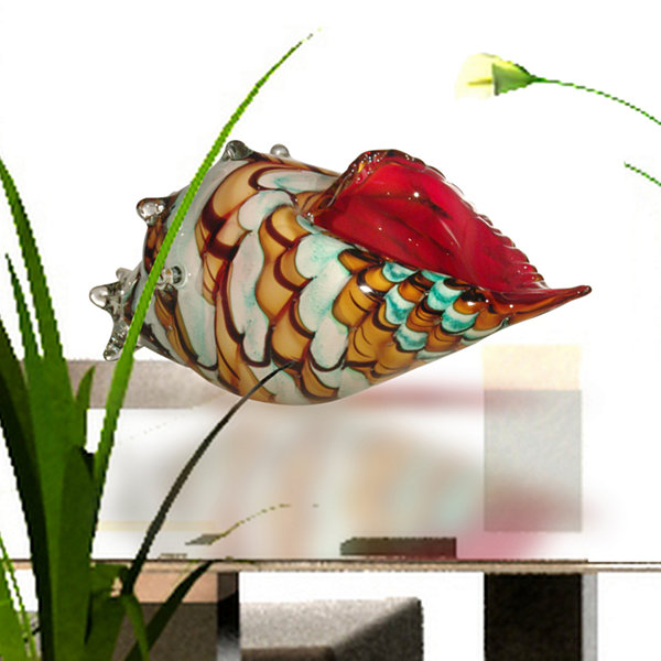 Dale Tiffany Seashell Art Glass Sculpture