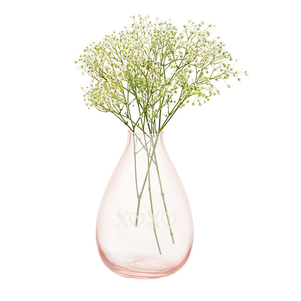 Cathy's Concepts Blush Glass Vase