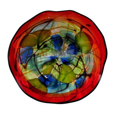 Dale Tiffany Vallone Art Glass Wall Decor