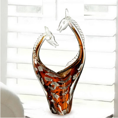 Dale Tiffany Chiasso Art Glass Sculpture