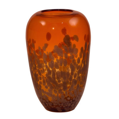 Dale Tiffany Volcano Art Glass Vase