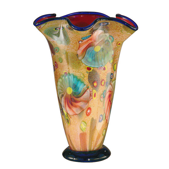 Dale Tiffany Selciato Art Glass Vase
