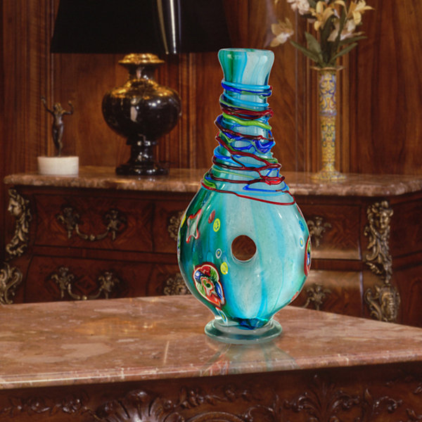 Dale Tiffany Vanguard Art Glass Vase