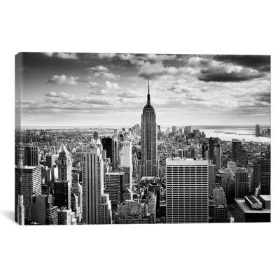 NYC Downtown by Nina Papiorek Canvas Print