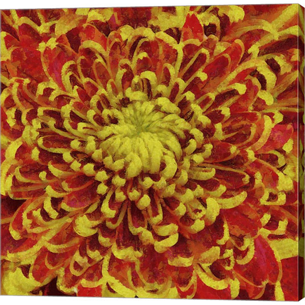 Metaverse Art Chrysant Gallery Wrap Canvas Wall Art